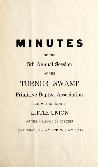 Minutes 5th Ann TSPBA