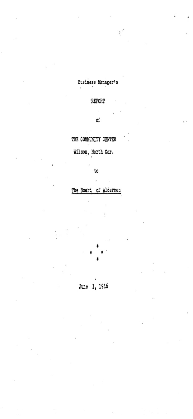 Community_Center_Report_1946_Page_1