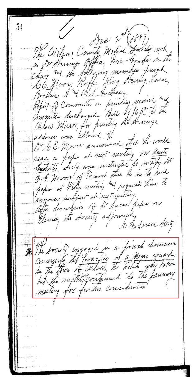 Wilson Co Med Soc Minutes re Black Quack Doctor_Page_01