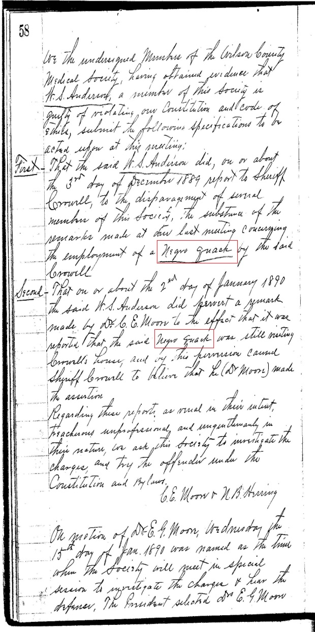 Wilson Co Med Soc Minutes re Black Quack Doctor_Page_03