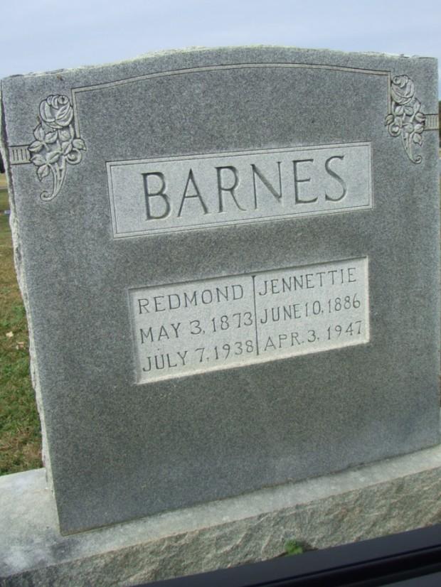 barnes-redmond-jenette-barnes-headstone