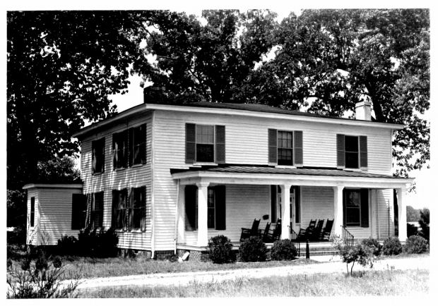 J Barnes house 1976