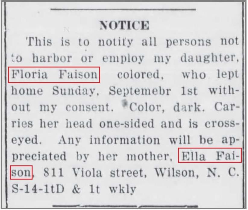 WDT_9_17_1918_Floria_Faison