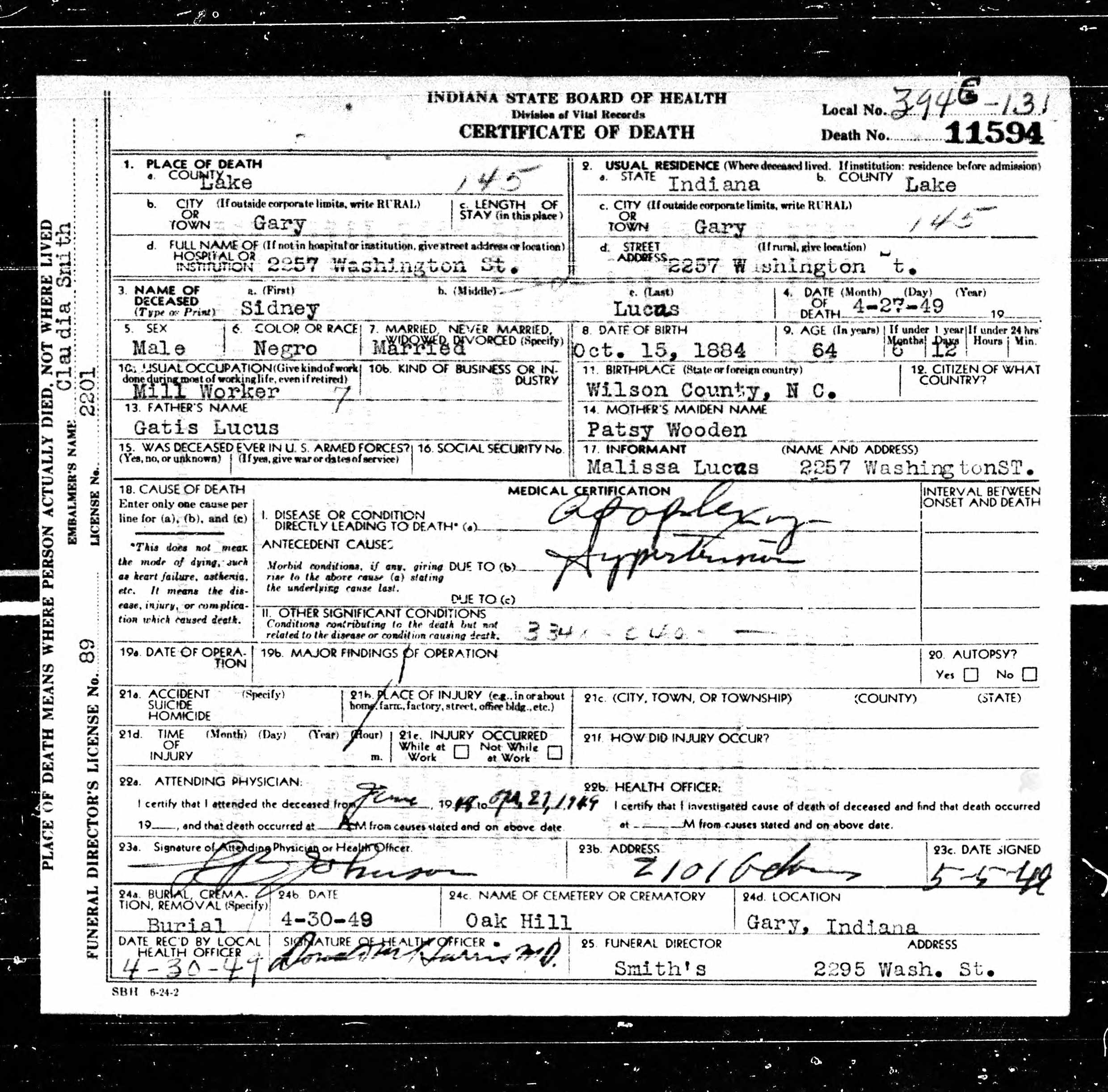 Where did they go indiana death certificates no 2 black indiana death certificates no 2 black wide awake aiddatafo Choice Image