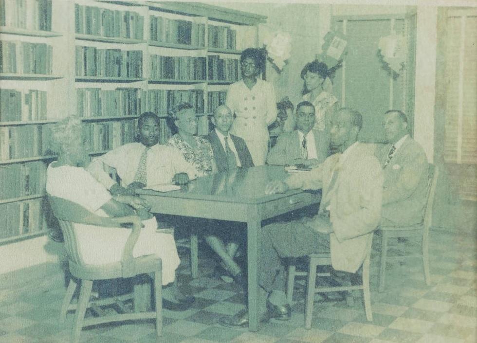 negro library trustee board