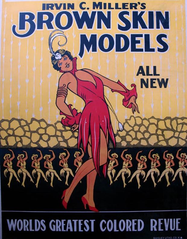 Irvin Miller - Brown Skin Models - poster