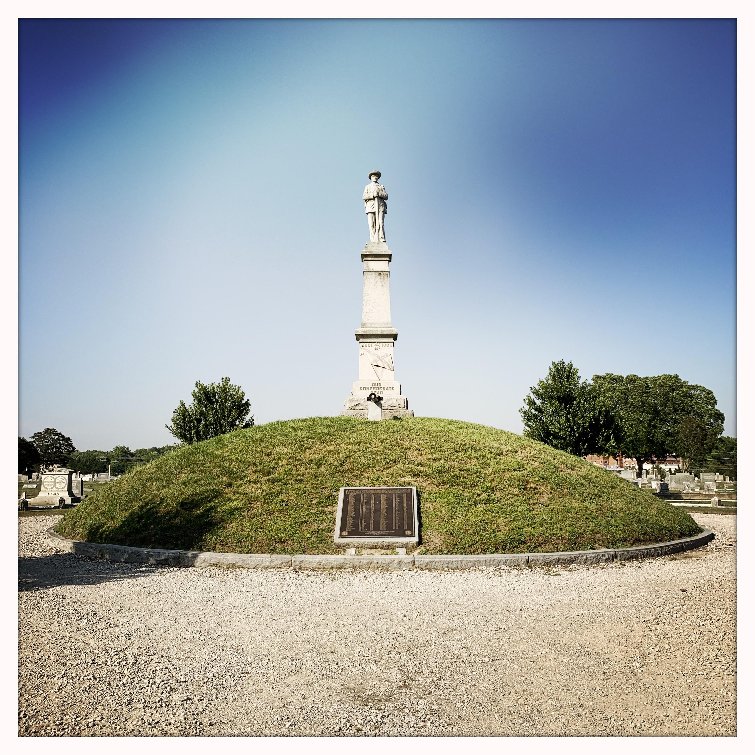 XConfederate monument