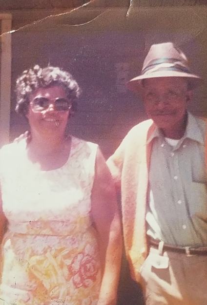 Levi and Cora Wellington in the 1960s at 402 Manchester St..jpg